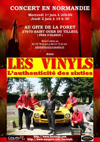 Vinyls, Rock, Normandie, printemps,Twist